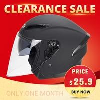 Clearance Sale!!! HEROBIKER Motorcycle Helmet Men Motorbike Motocross Casco Moto Helmet For Motorcycle Racing Half Face Helmet