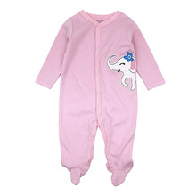 Newborn Baby Clothes Cartoon Baby Rompers Long Sleeve Baby Girls Clothing Spring Baby Jumpsuits Roupas Bebes Infant Costume(China)