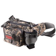 2017 Noeby Fishing Bag 28x19x12cm Canvas Waist Bag Fishing Tackle Lure Package Pesca Outdoor Equipment Bag Fishing Tackle