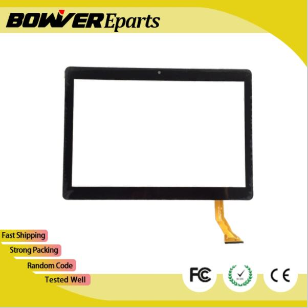 A+ White or black 10.1 Touch for VOYO Q101 4G VOYO i8 Tablet touch screen panel Digitizer Glass Sensor Replacement new white black 10 1 inch tablet qsd e c100016 02 touch screen digitizer glass touch panel replacement sensor icoo icou10gt