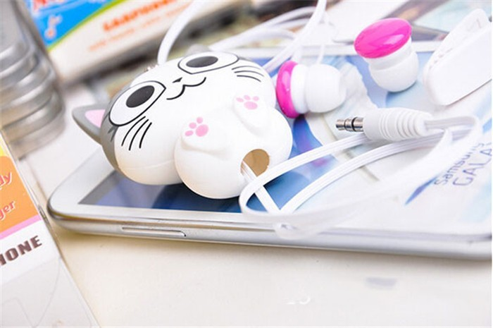 Cartoon Cat Earphones