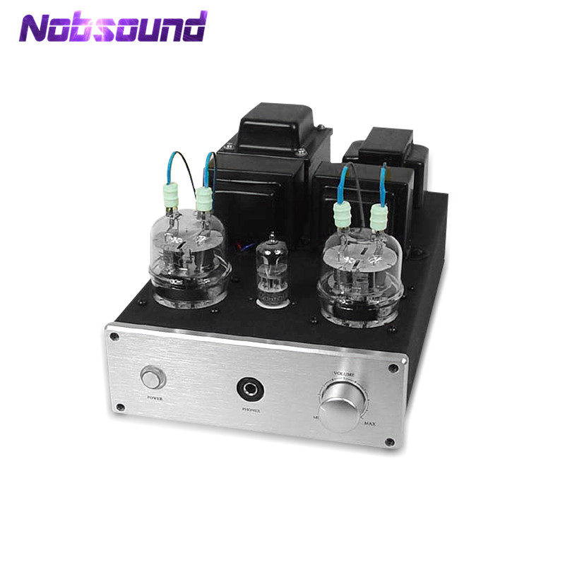Nobsound Latest 6N2+FU32 Vacuum Tube Amplifier & HiFi Headphone Amp Single-ended Class A Power Amplifier 4W*2 стоимость