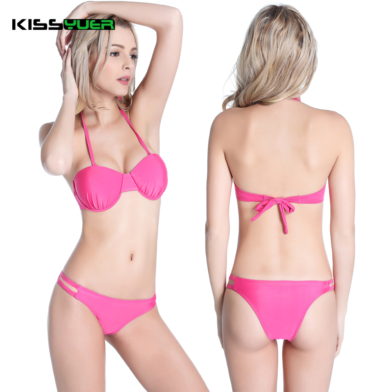 KISSyuer 2017 new womenUnderwired Semicircle font b Cup b font Fully Lined Female Plus size Plump online get cheap f cup swimwear aliexpress com alibaba group,F Cup Swimwear Plus Size
