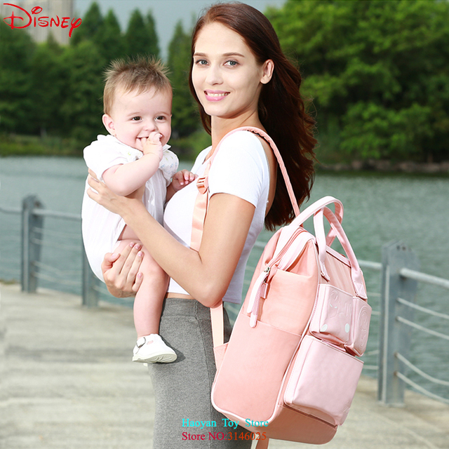 Disney Classic Commemorative Edition High Value Diaper Bags Mummy Maternity Nappy Bags Large Capacity Baby Bags Travel Backpack