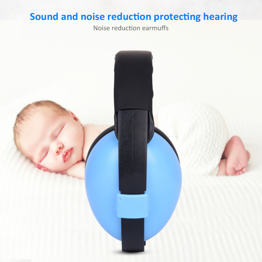 Baby Ear Hearing Protection Sound-proof Earmuffs Children Baby Infant Ear Protector Learning Sleeping Sound Insulation Earflap