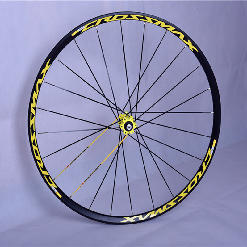 2018 HOT SALE 2 Kind Color CROSSMAX SL Pro 26 39 39 27 5 39 39 29 39 39 MTB Mountain Bike Bicycle UST Wheelset 6 Hole May Adapt XD in Bicycle Wheel from Sports amp Entertainment