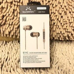 Image 4 - SoundMAGIC E11C ノイズ隔離 In 耳イヤホンとマイク & ユニバーサルリモートすべてのスマートフォン用