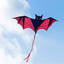 1 SET New Toys Flying Kites 190cm Huge Bat Kite Without String And Handle Outdoor fun Sports Toys WA175 T10