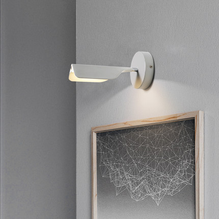 Simple Modern Wall Sconces Dimming LED Wall Light Fixtures Rotation With Touch Switch Bedside Wall Lamp Indoor Lighting simple art modern led wall light fixtures for home indoor lighting acrylic round wall sconces bedside wall lamps lampara pared
