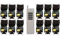 3000M Long Range AC220V 1CH RF Wireless Remote Control Relay Switch Light Lamp Window Garage Doors