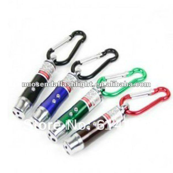 3in1 Infrared Laser Light + Money Detector Light + LED Light Mini Flashlight (5pcs/lot)