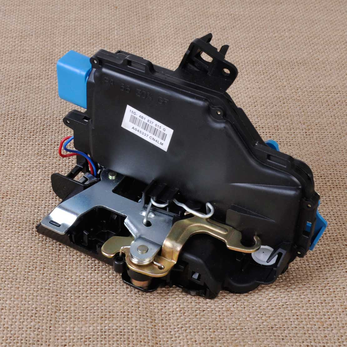 CITALL Front Left Driver Door Lock Latch Actuator 3D1837015 1TD837015A 3D1837015AB for VW Golf GTI MK5 Touareg Cayenne Porsche black door lock latch actuator driver front side left lh for vw jetta golf beetle easy to install