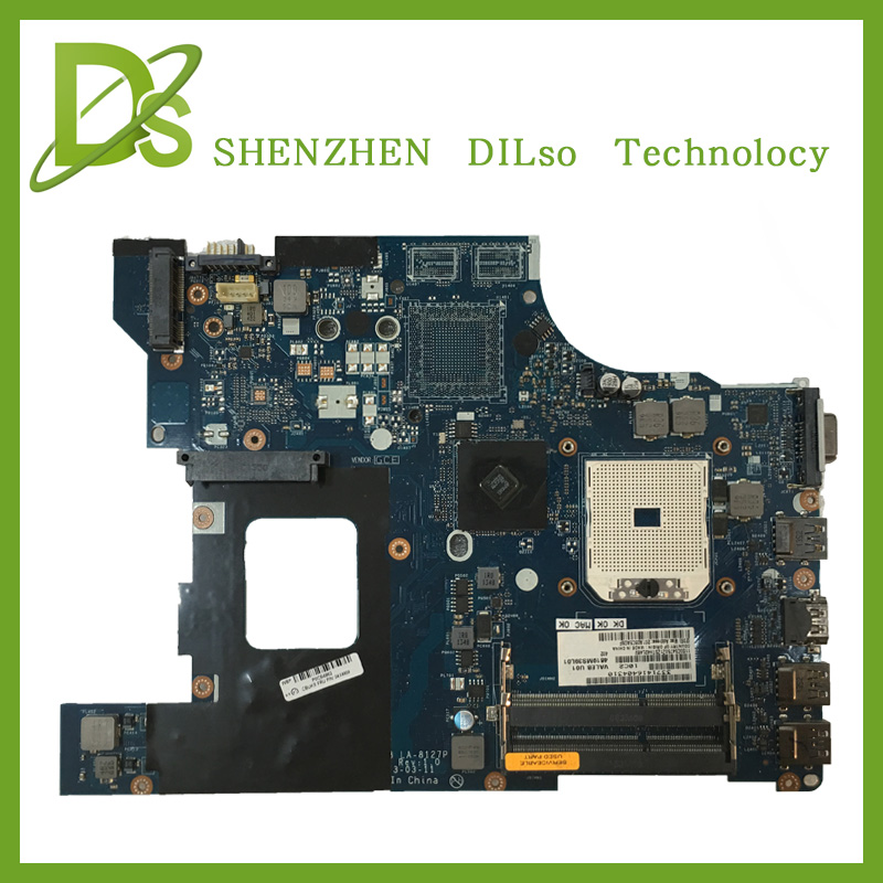 KEFU VALEB LA-8127 E545 laptop motherboard for Lenovo ThinkPad Edge E545 mainboard rev1.0 Test original motherboard gzeele new us laptop keyboard for lenovo for ibm thinkpad edge e530 e530c e535 e545 04y0301 0c01700 v132020as3 without backlight
