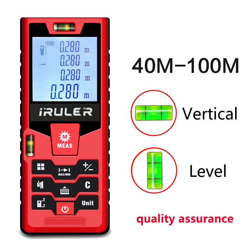 Mileseey S2 telemetro laser 40 m 60 m 100 m distanza misuratore laser distance meter