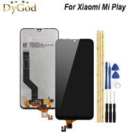 For Xiaomi Mi Play LCD Display and Touch Screen 5.84inch Screen Digitizer Assembly Replacement with Tools Mobile Accessories