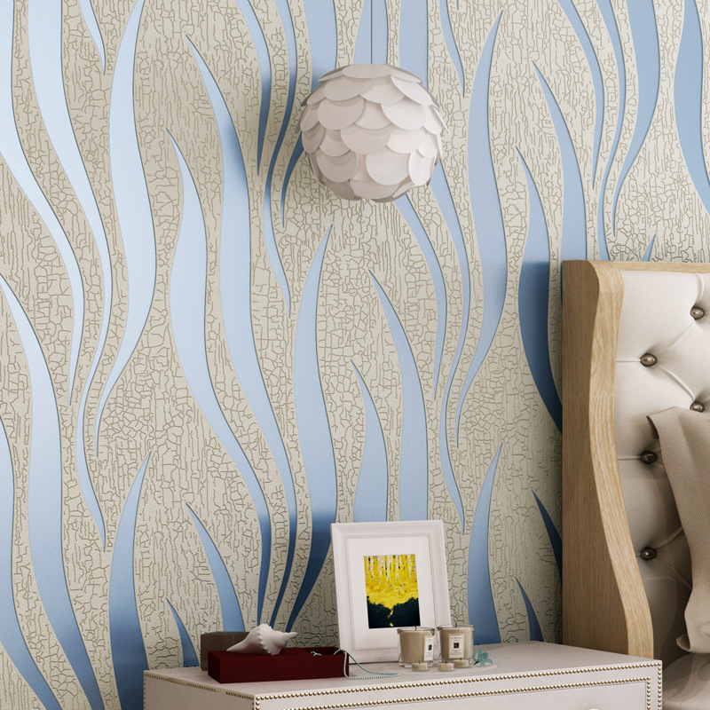 Us 46 72 27 Off Beibehang Flame Dance Wallpaper Home Decoration Abstract Art Tv Cabinet Backdrop Ktv Club Cafe Wavy 3d Wallpaper Papel De Parede In