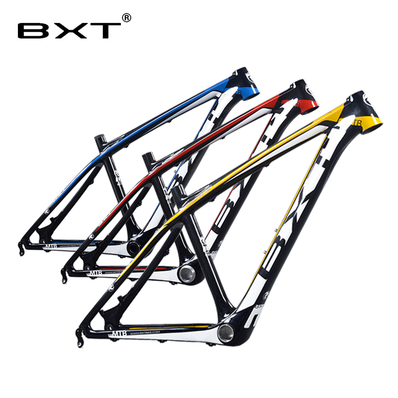 Chinese carbon frames 14/16 inch 26 carbon mountain bike frameset super light kids carbon mtb frame 26er  bicycle frame mountain bike carbon frame 26er full carbon mtb bike frame 26er 14 16 t800 carbon fiber frame mtb with headset clamp bb92