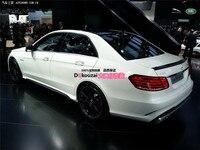 Fit for Mercedes Benz E W212 E200 E260 E300L E63 AMG carbon fiber rear spoiler rear wing