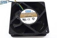 Original For AVC DV12038B12H 12038 120mm 12cm 12V 4.5A high speed server inverter axial cooling fans cooler