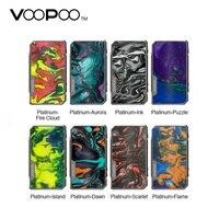 Новый оригинальный VOOPOO Drag 2 Platinum 177 Вт TC коробка мод No18650 батарея Vape испаритель Voopoo мод vs люкс мод/Gen мод/Drag Nano