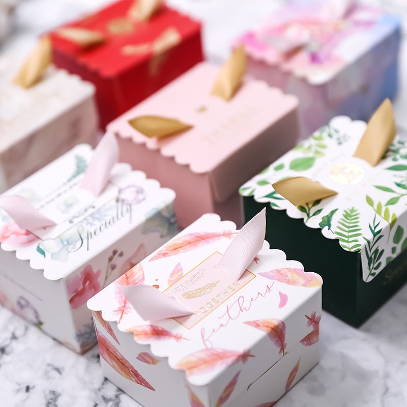 Us 2 42 19 Off 10pcs Lot Wedding Gift Box Present Packaging Candy Box Diy Wedding Favor Gifts Marriage Wedding Decor Supplies In Gift Bags
