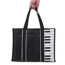 ammoon Waterproof Handbag Music Tote Shoulder Grocery Shopping Bag 5mm  Cotton Padding 246030318e70a