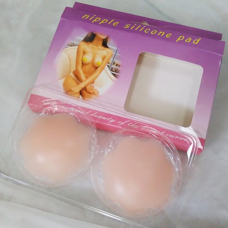 1Pair Sexy Women Breast Pads Silicone Bra Gel invisible Inserts Push Up Bra Insert Breast Bra Cleavage Triangle Pads Enhancer