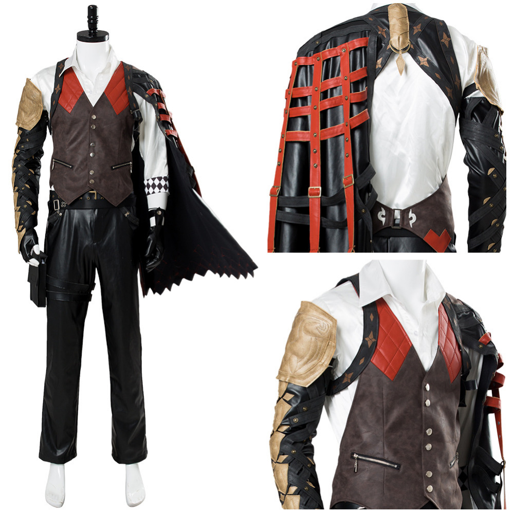 Cosplay Costume Code Vein Louis Rui Cosplay Costume Outfit Adult Men Halloween Carnival Costumes Custom Made