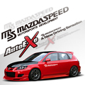 MS Mazdaspeed Automovilismo Vinilo Reflectante Cintura Line Car Sticker Decal Auto Tuning para Mazda 3 Mazda 6 CX-5 CX-7 Coche-estilo