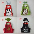 4style Double Side capes star wars capes+mask 2pcs/set customize logo-Darth vader Yoda stormtrooper Ape-man capes and masks C367