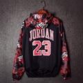 С капюшоном Куртки Иордания 23 Горячие Продаж 2017 Весна Осень Sup Тонкие Ветровки Мужчины Солнцезащитный Крем Clothing Бейсбол Куртка мода
