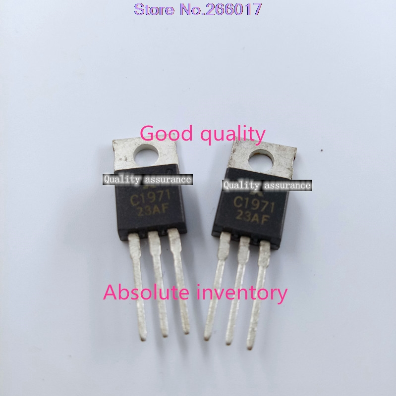 Free Shipping 10pcs/lot 2SC1971 2S C1971  original product quality assurance free shipping 1pcs 2mbi100n 060 100a600v imported original disassemble module fidelity product quality assurance yf1025 relay