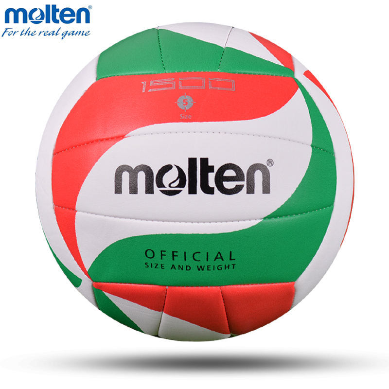 Molten Original V5M1500 Volleyball Ball Official Size 5 Volleyball Soft PU Material Match Training Teenages Voleyball Voleibol