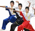 YZL15 Martial arts cloth tai chi clothing short-sleeve performance wear martial arts clothing cloth costume wushu suit free ship
