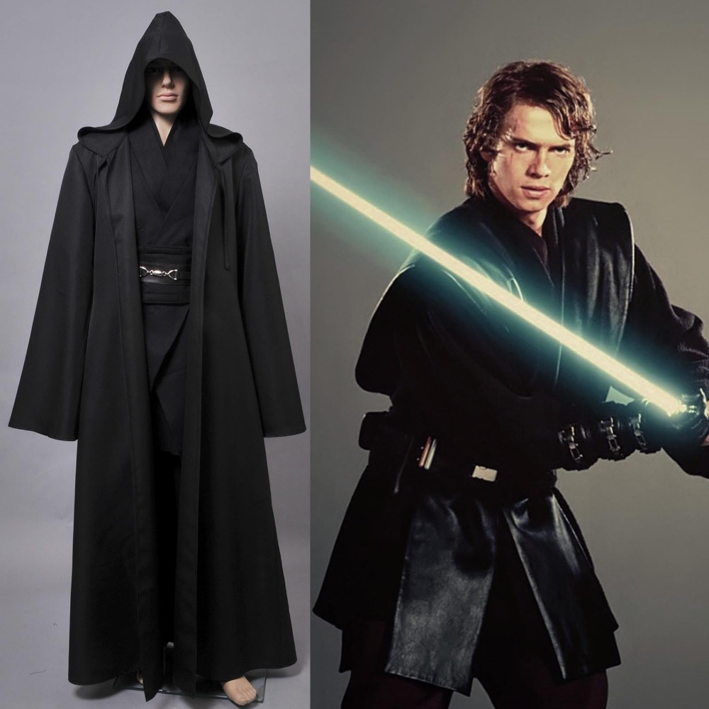 Star Wars Costumes Revenge of Sith Cosplay Costume Anakin Skywalker Costumes Halloween Carnival Uniform