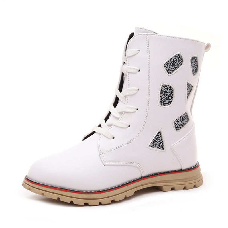 Aliexpress.com : Buy 2015 New Fashion Girls Winter White Boots ...