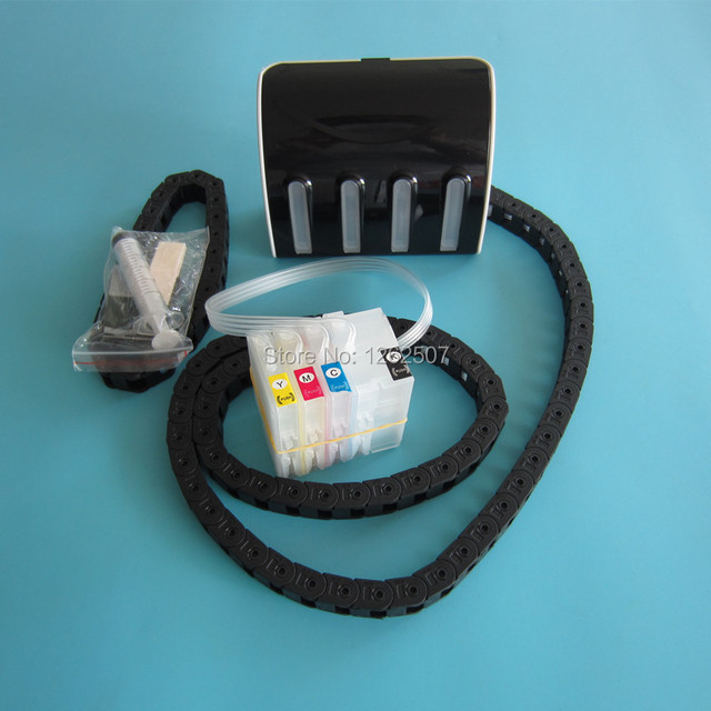 HP711 Continuous ink supply system For hp 711 Ciss with hose chain For HP Designjet T120 T520 printer ink ciss with ARC chip