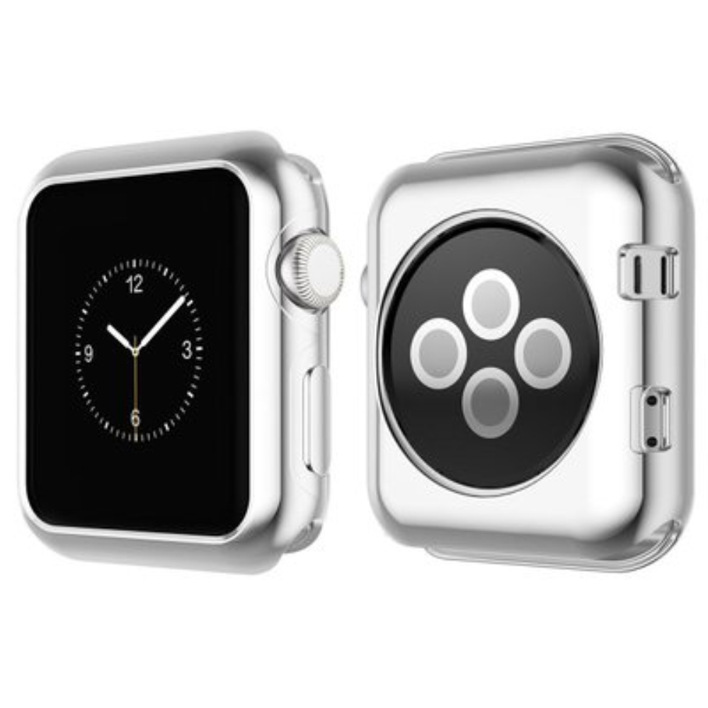 2018 Soft Transparent Case For Apple Watch Ultra Thin Clear Protective Cover Protection Smart Watch Bumper iWatch Series 3 2 1
