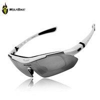 Cycling Sun Glasses WOLFBIKE Men S Polarized Outdoor Sports Bicycle Bike Sunglasses TR90 Ski Goggles Eyewear