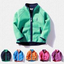 New 2017 children polar fleece cardigan sweatshirt hoodies kids jacket and Coats baby boys girls Coral velvet sweatshir