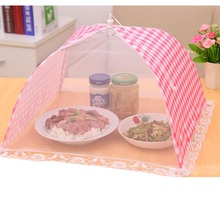 Umbrella Style Food Anti Fly Mosquito Meal Cover Home Kitchen Food Cover Mesh Table цена