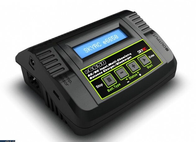 SKYRC e6500 Professional Balance Charger/Discharger 50W for RC Airplane Car Boat