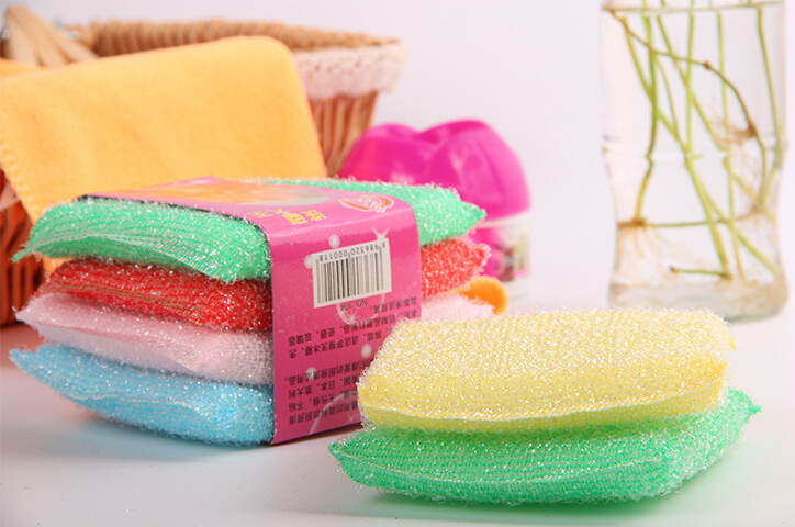 4 pcs more colors multi functional magic sponge eraser melamine cleaner wash car clean tableware. Black Bedroom Furniture Sets. Home Design Ideas