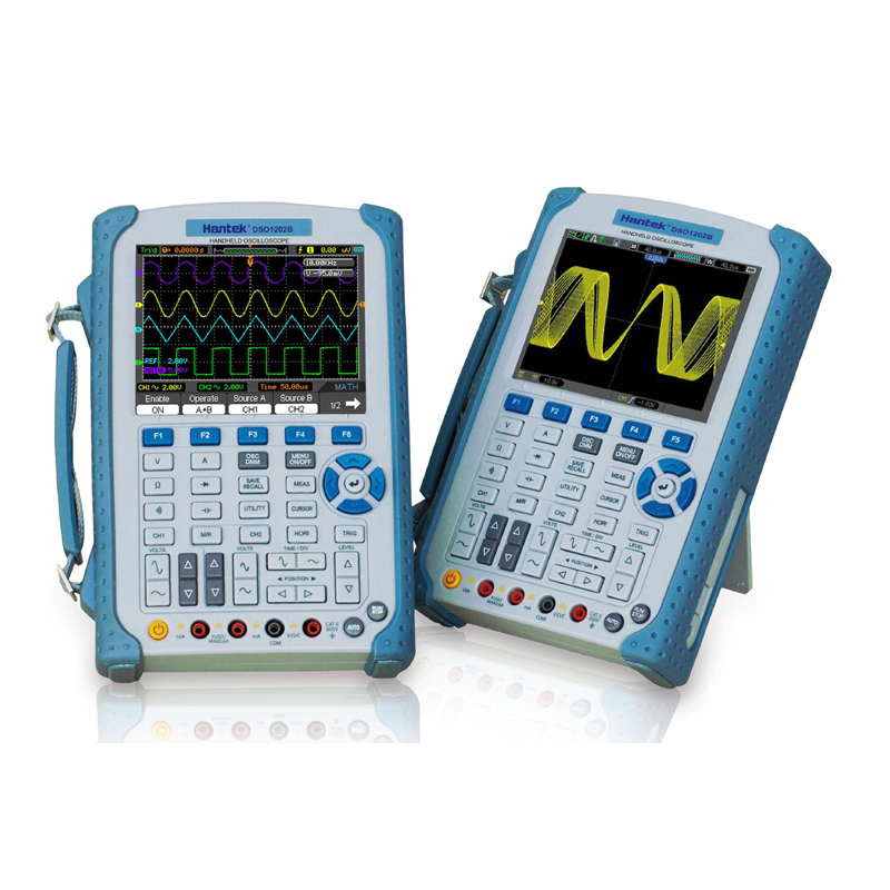 <font><b>Hantek</b></font> <font><b>DSO1102B</b></font> Digital Handheld Oscilloscope /Multimeter 100MHz 1Gsa/S 2 Channels image