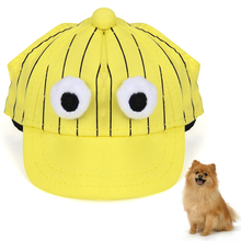 1Pc Dog Baseball Cap Fashion Cartoon Sun Protection Pet Hat For Cat Hair Accessories