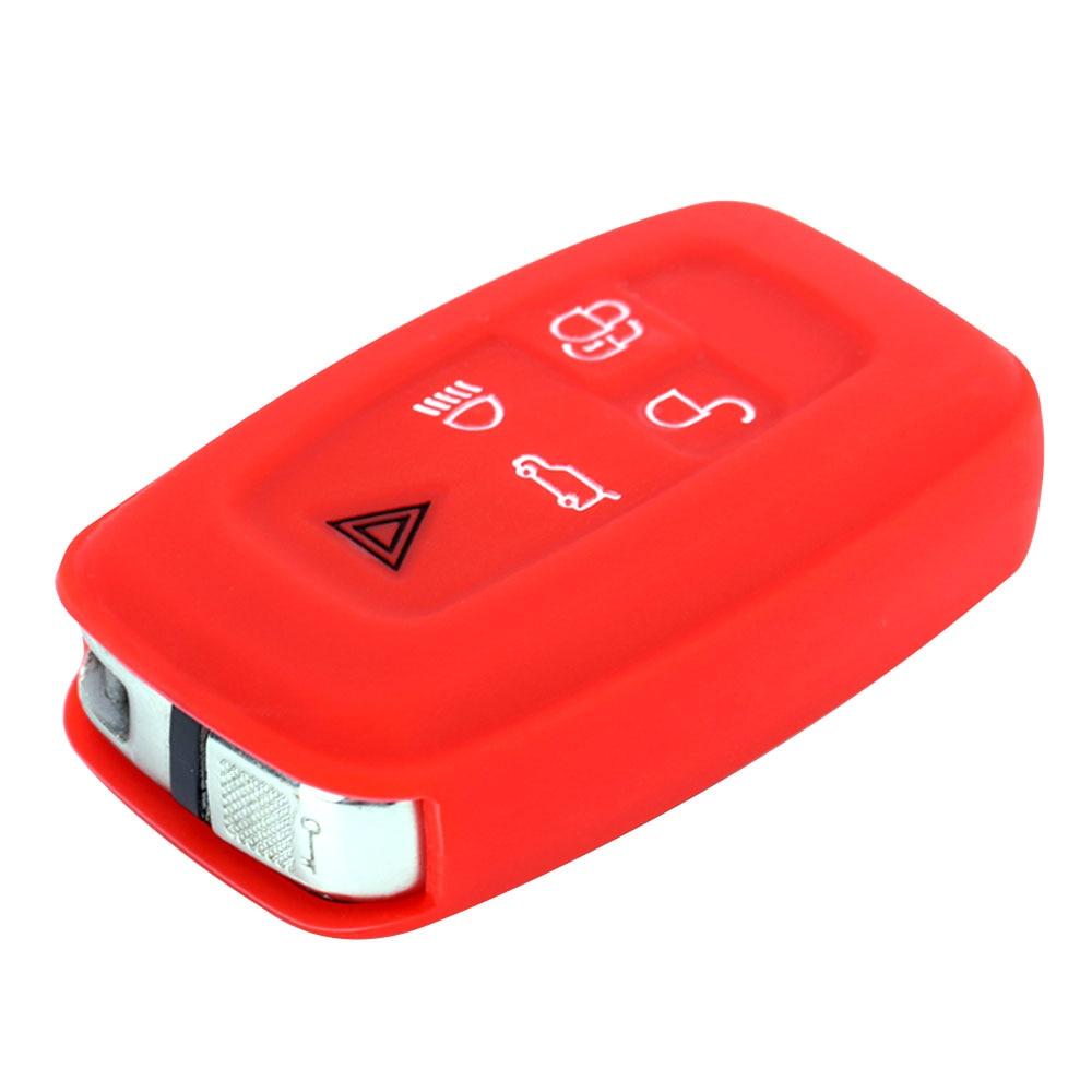 Vehemo силиконовый для ключа автомобиля оболочка дистанционного Fob крышка транспортного средства силиконовый чехол для ключей гибкий автомобильный чехол для пульта дистанционного управления для Range Rover мягкий