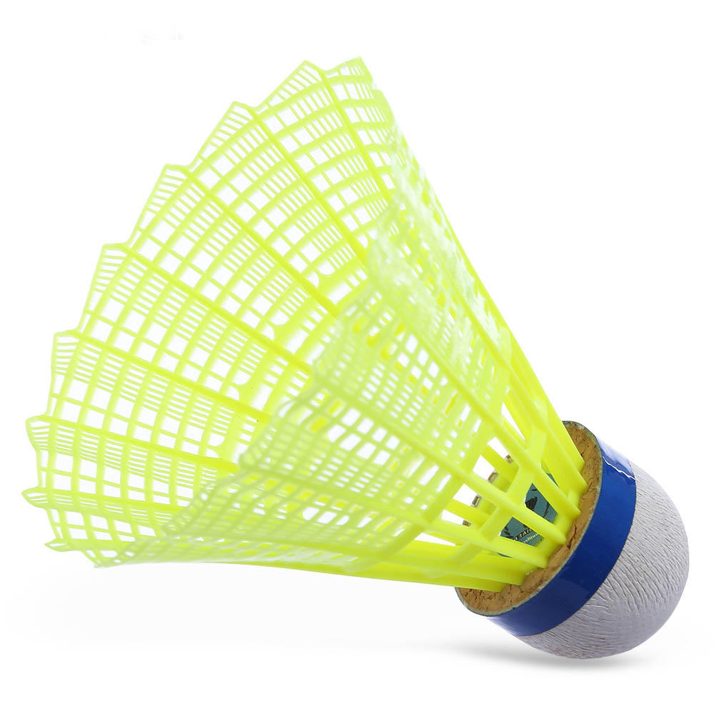 Professional Badminton Ball 6Pcs Outdoor Sports Practice Accessories Durable Nylon Badminton Balls
