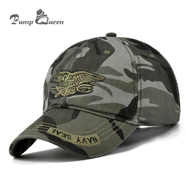 High Quality Camo Baseball Cap Men Camouflage Navy Seal Tactical Cap Mens  Hats And Caps Bone Army Snapback For Adult cef165f29c1