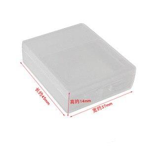 Image 2 - 6 pièces boîtier de batterie Transparent batterie de protection boîte de rangement étanche à lhumidité boîte pour Gopro Hero 7 6 5 noir Xiaomi Yi caméra