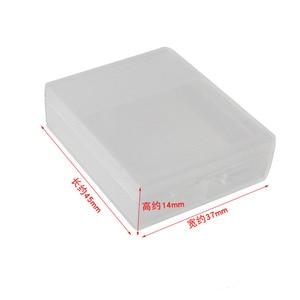 Image 2 - 6pcs Battery Case Transparent  Battery Protective Storage Box Moisture Proof Box For Gopro Hero 7 6 5 Black Xiaomi Yi Camera